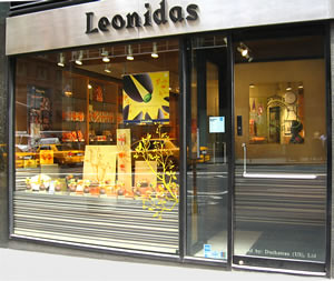 Leonidas Fresh Belgian Chocolates in NYC