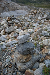 Stacked stones on Sustenpass (Alastair Cummins) Tags: rocks stones pile stacked stacks