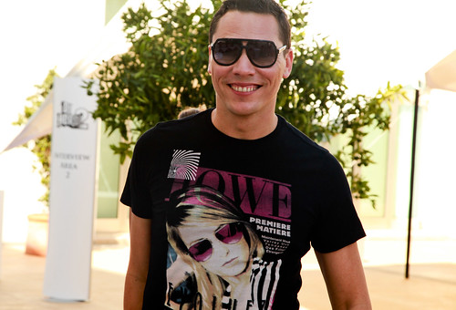 Tiesto - DJ Hero 2 launch at Aguas de Ibiza: 06/09/10