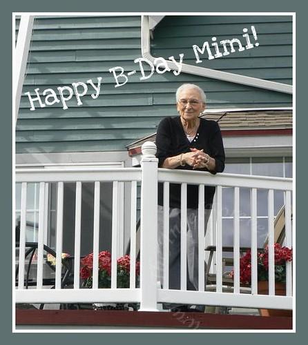Mimi's B-day