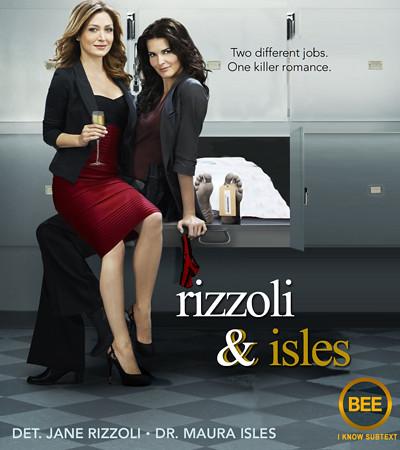 Rizzoli & Isles fan poster