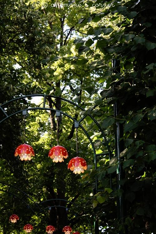 Stoccolma: i funghetti del Gröna Lund, il parco dei divertimenti..
