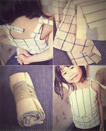 (Our Artful Life) Sewing Project : Dish Towel Dress
