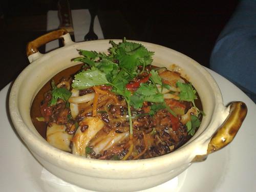 seafood claypot
