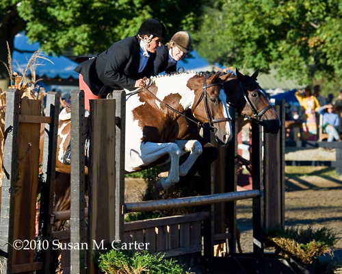 Pairs Class at Warrenton Horse Show Hunt Night