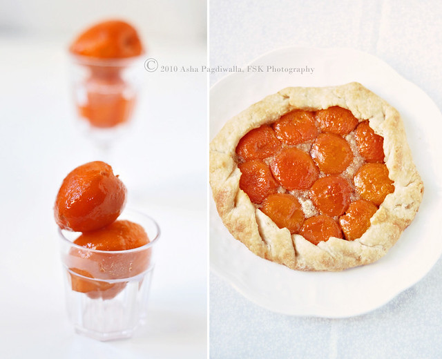 Apricots and Galette