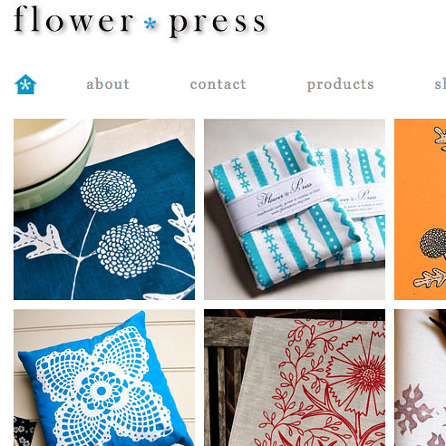 flower press website