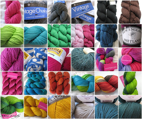 Yarn Collage