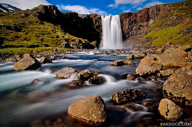 Gufufoss, Fjarðarheiði