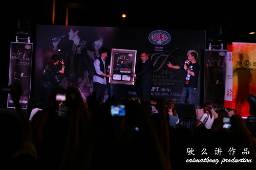 JJ Lin 林俊杰100天音乐实录大马签唱会Live Super Tour 2010
