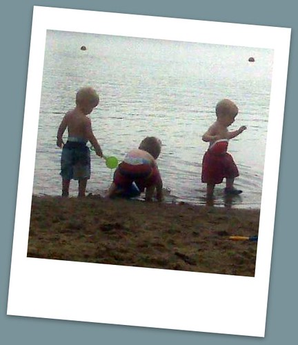 cousins at the beach