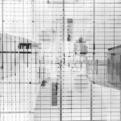 Shanghai (arnd Dewald) Tags: bw reflection 6x6 analog mediumformat airport shanghai seagull symmetry sw analogue   flughafen pudong departure ilford reflektion tripleexposure  terminal2 symmetrie abflug pvg  mittelformat  dreifachbelichtung asymmetrya arndalarm zhnggu shanghaipudonginternationalairport   shnghipdnggujjchng 12823786010l051klein southfacadeview