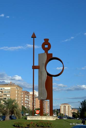 Homenaje a Íñigo Arista, Señor de Pamplona by Rufino Lasaosa