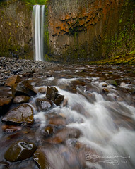 Where's Betty? (Gary Randall) Tags: water oregon creek river waterfall abiquacreek abiquafalls garyrandall dsc69622