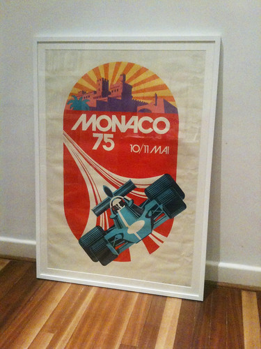 Just back from the framers
