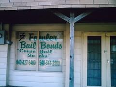 Bail Bond Office, Alvord,Texas