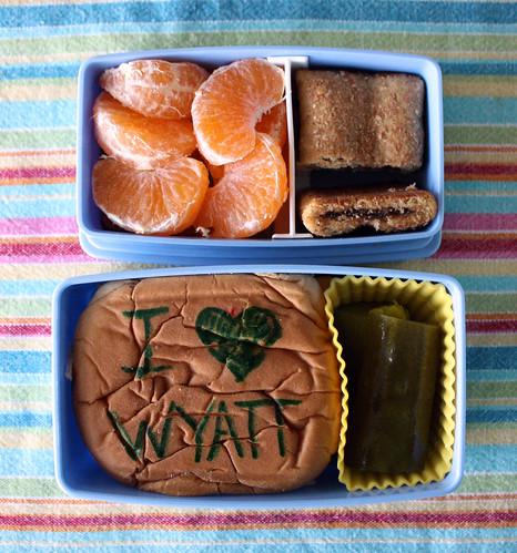 First Grade Bento #348: September 8, 2010