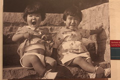 Barbara Saruwatari and Laurie Fukamaki, 1934