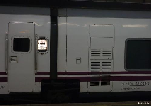 Train to Madrid