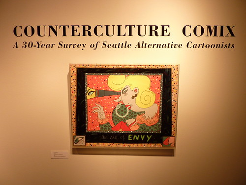 Counterculture Comix exhibit (Lynda Barry), Bumbershoot 2010