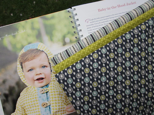 Baby-in-the-Hood Jacket - fabrics