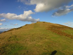 Heading towards the summit of Caradoc Photo