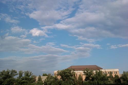 西區操場的天空