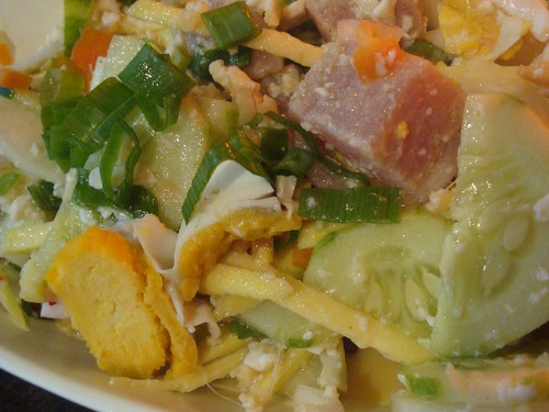 Antonio's (SM) - Kinilaw with salted eggs