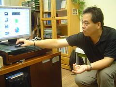 單車客不只是過客計畫主持人 林崇偉助理教授