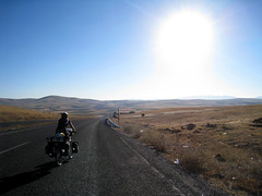 Last morning cycling to Cappadocia