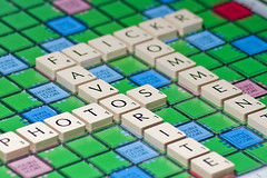 Flickr Scrabble (