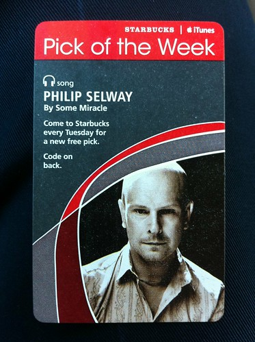 Starbucks iTunes Pick of the Week - Philip Selway - By Some Miracle