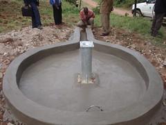 Eshikhoni pri.school-new re-constructed well pad.