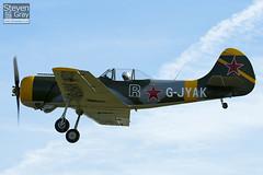 G-JYAK - 853001 - Aerostars Team - Yakovlev Yak-50 - Duxford - 100905 - Steven Gray - IMG_8140