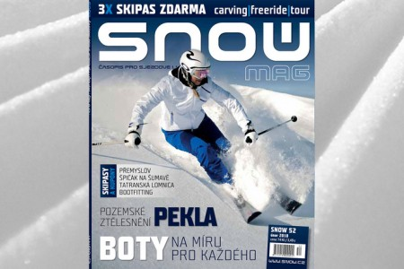SNOW 52 + 3x SKIPAS ZDARMA a podiatrické vyšetření zdarma