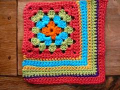 corner granny (Lindevrouwsweb) Tags: crochet grannysquare haken vierkantjes