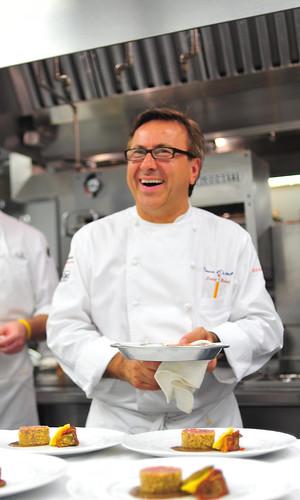 Le chef qui ris.
