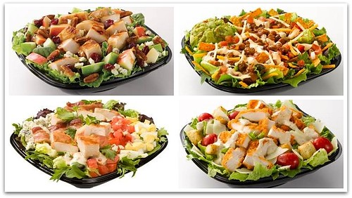 4 New Salads from Wendy's