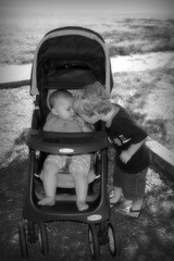 smooches (peapod_dreams) Tags: friends baby cute toddler kisses ethan layla