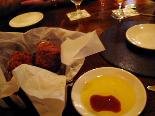 Bread and Dipping Oil @ Raglan Road