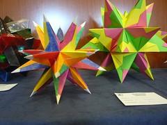 Estrellas Modulo Tornila (Origami Pablo) Tags: sevilla modular tornillo convencion bascetta