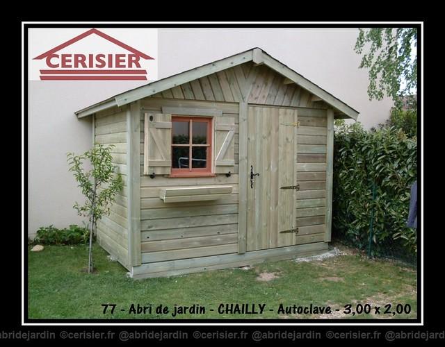Abri de jardin CHAILLY by cerisier77310