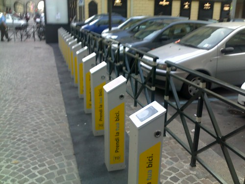 Bike sharing senza bici