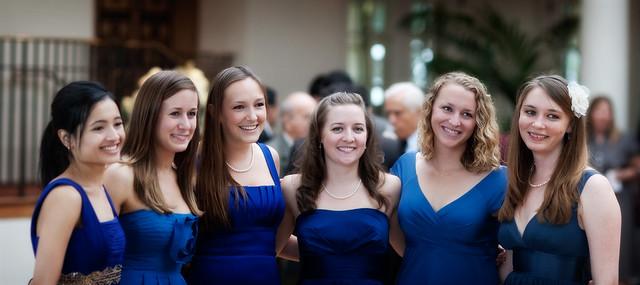 Ladies in... Blue