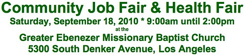 Ebenezer Job Fair