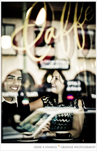 Ashley and Jnani engagement pix! by orange photography