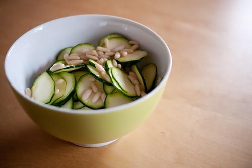 #254 - salade de courgettes