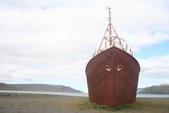 Navio de Metal mais antigo da Garðar BA 64 Islândia