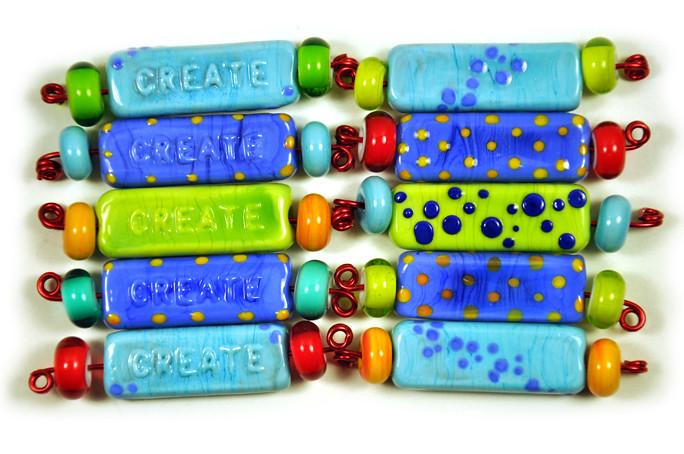 create bangle beads