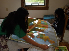 Geography Using Postcards